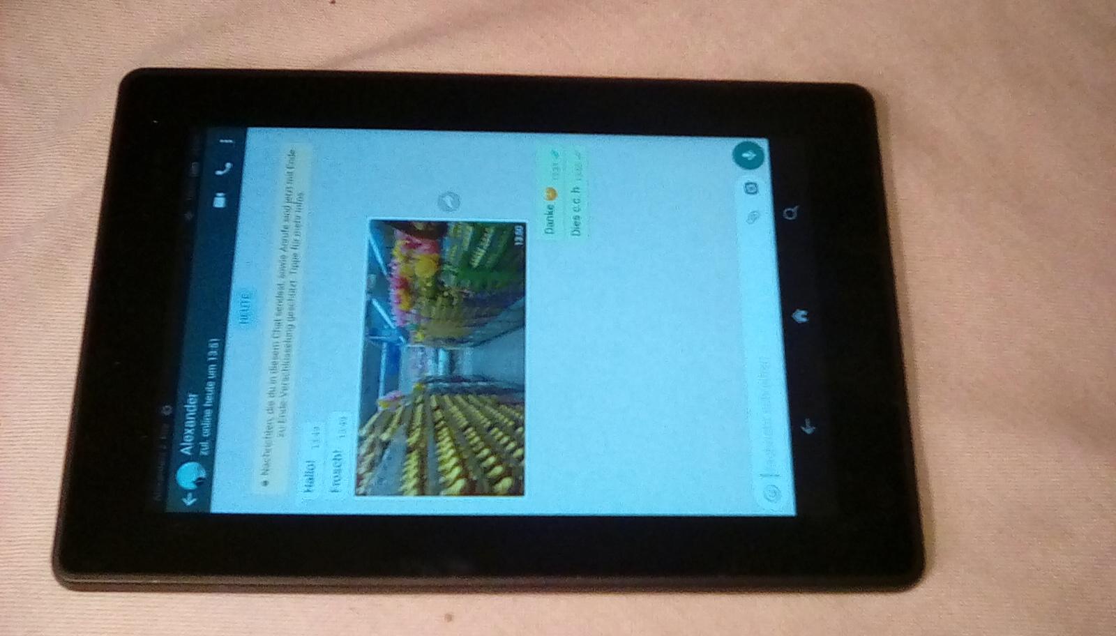 Whatsapp Fire Tablet