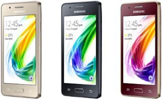 Harga HP Samsung Galaxy Z2 Murah, Terbaru dan Spesifikasi Teknologi 4G Oktober 2016