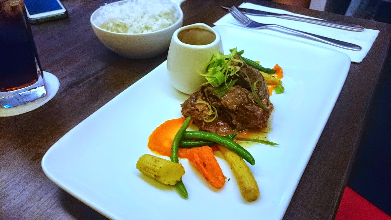 Beef dishes at Carnivore Cebu