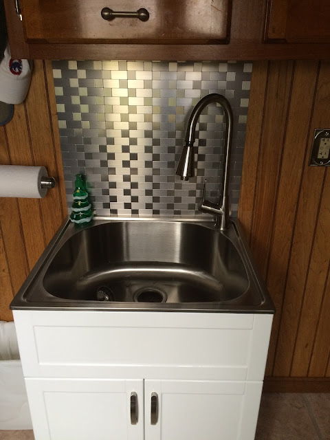 new sink cabinetry