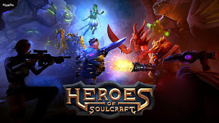 Screenshots of the Heroes of soulcraft for Android tablet, phone.