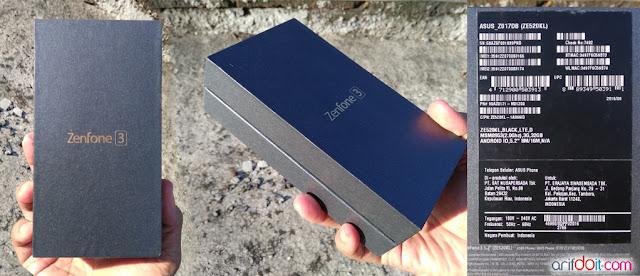 Box Asus Zenfone 3 ZE520KL