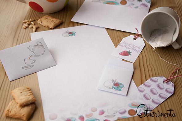 imprimibles snail mail estherimenta
