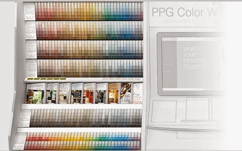 Browsing All 1 300 Of The Colors On This Palette Is A Breeze Every Row Begins With Section Revealing Its Top Three Along Por Trim And