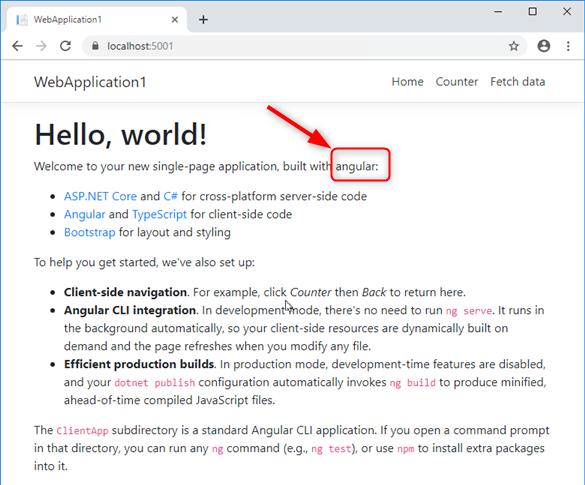 """Modification """"à la volée"""" de mon application Web ASP.NET Core & Angular"""