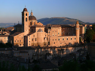 The Renaissance Ducal Palace at Urbino is listed as a Unesco World Heritage site