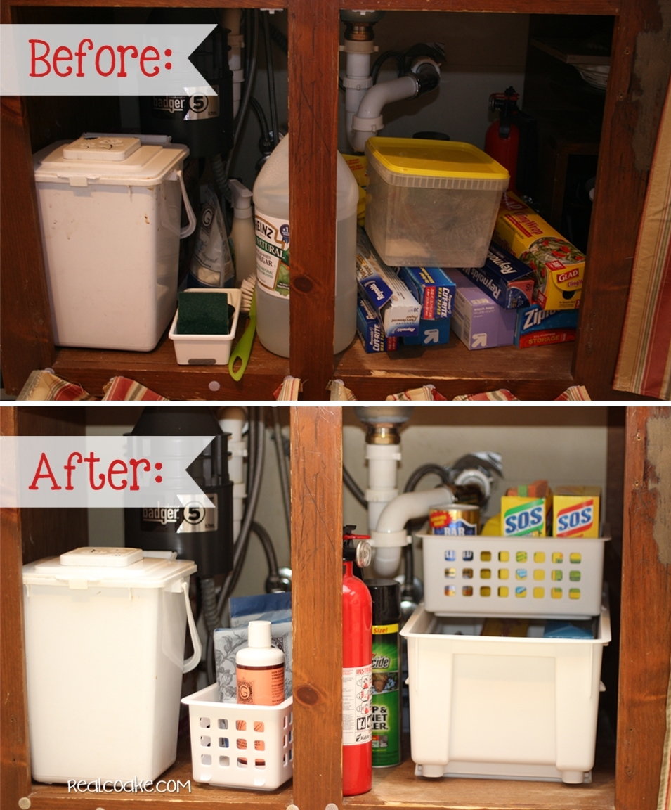 kitchen cabinet organization ideas organizing tips for the sink from to organized 19236