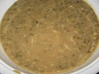 Resep Bubur Kacang Ijo Ketan Hitam Santan Kental Enak Campur Jahe Putih + Cara Membuat Sederhana