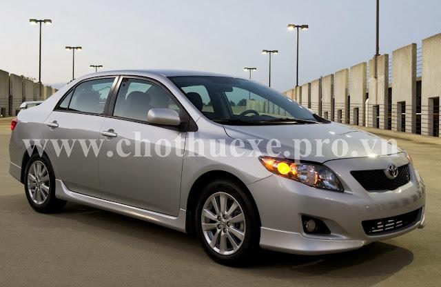 Cho thuê xe Toyota Altis 4 chỗ theo tháng