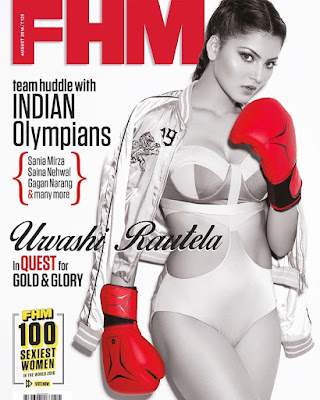 Urvashi Rautela FHM India August 2016 Photos