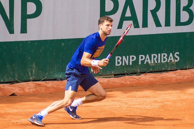 Grigor Dimitrov tennis roland-garros