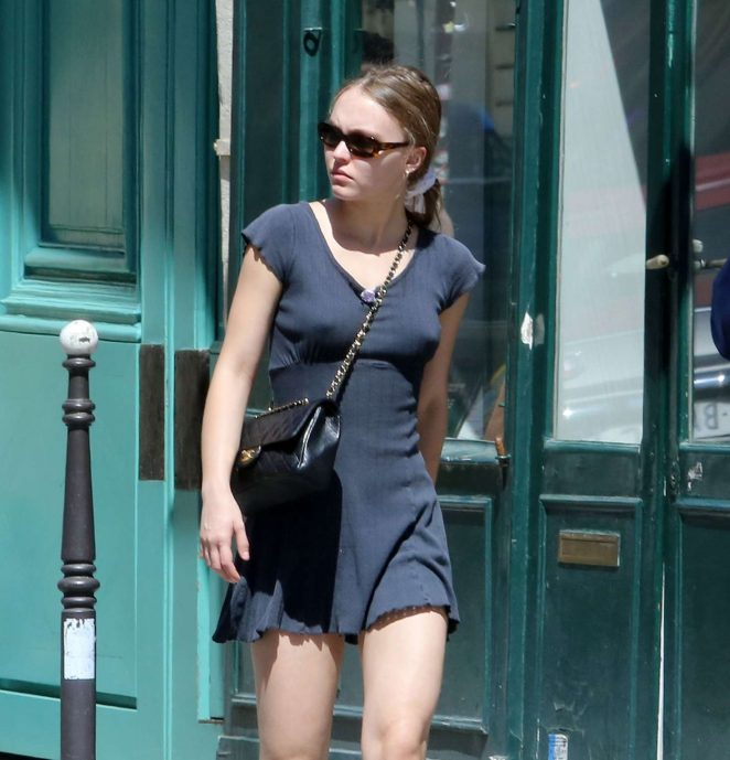 Lily Rose Depp Hot Photo Gallery