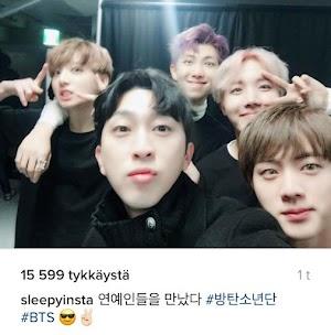 [Terjemahan] Sleepy Membicarakan Tentang Hubungannya dengan Member BTS