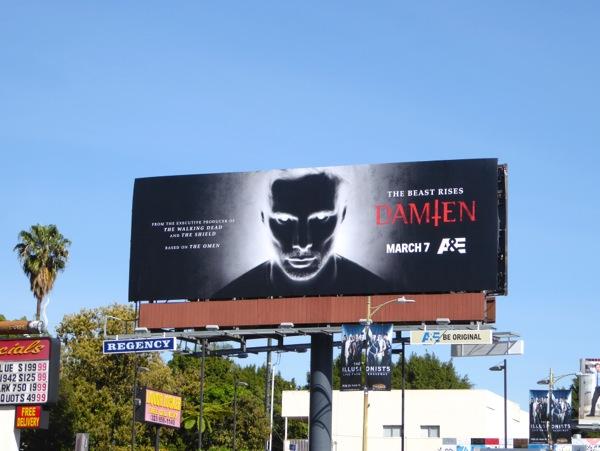 Damien series premiere billboard