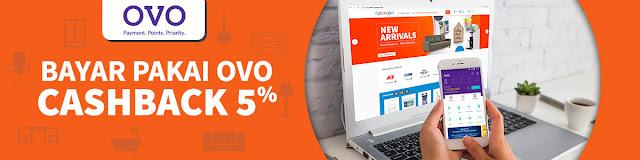 #OVO - #Promo Cashback 5% Hingga 20K Belanja di RupaRupa