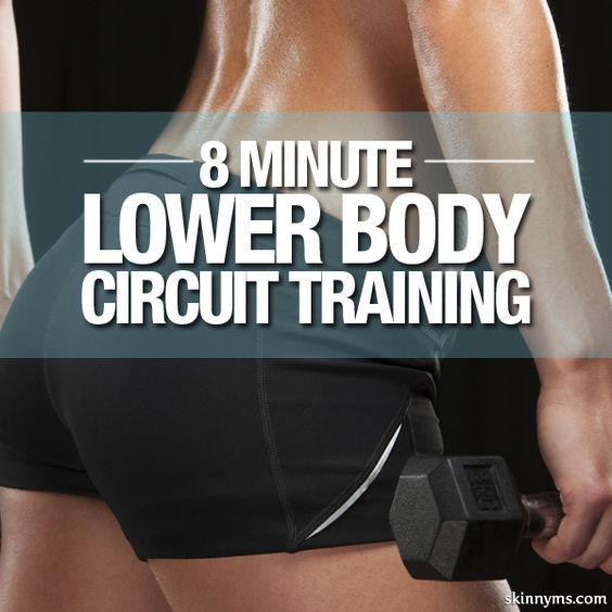 8 Minute Lower Body Circuit Training
