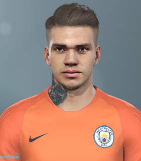 PES 2019 Faces Ederson Moraes by Hugimen