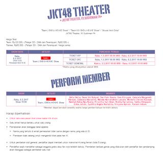 Jadwal Pembelian Tiket