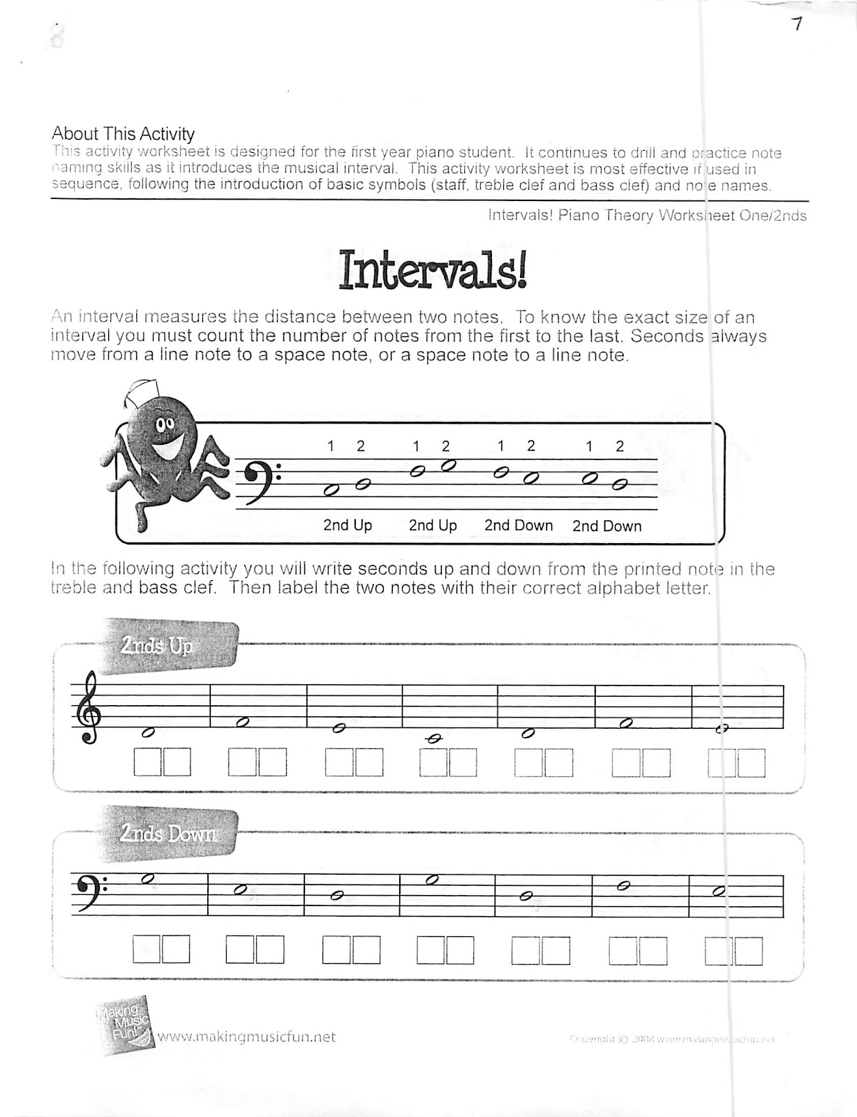 Miss Jacobson S Music Theory 9 Generic Intervals