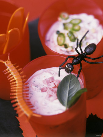 Two Devilishly Good Sandwich Spreads for Halloween