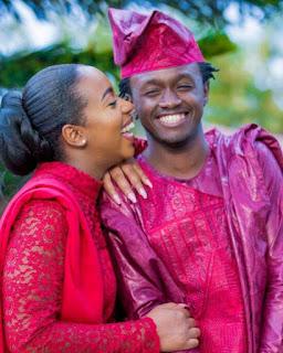 Bahati weds Diana Murua in Nairobi. PHOTO |FILE