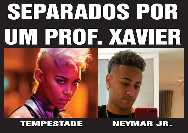 Imagens zuando o Neymar