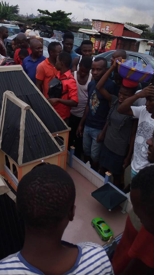 Check out these beautiful house models made by a young Nigerian