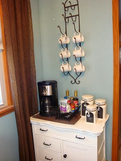 Coffee Bar Ideas ~ From my blissful space