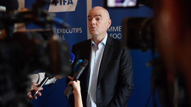 Gianni Infantino é a favor de uma candidatura conjunta para a Copa do Mundo de 2026 (Foto: Divulgação)