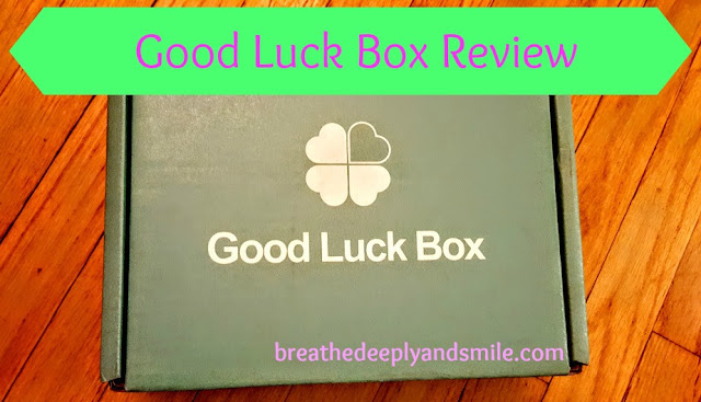Good Luck Box Review {CUCB Edition}