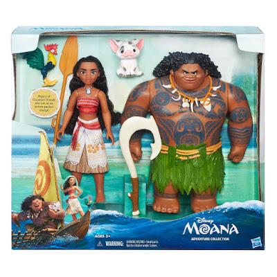 JUGUETES - DISNEY Vaiana  Pack Muñeca Vaiana & Muñeco Maui | + Pua & Hei  Hasbro  B8307 | NUEVA PELICULA 2016 | A partir de 3 años  Comprar en Amazon España