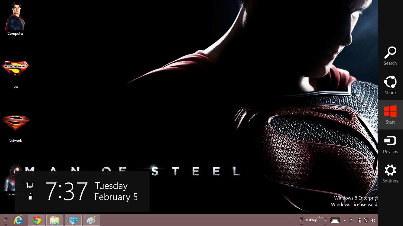 Man Of Steel Me Windows 8