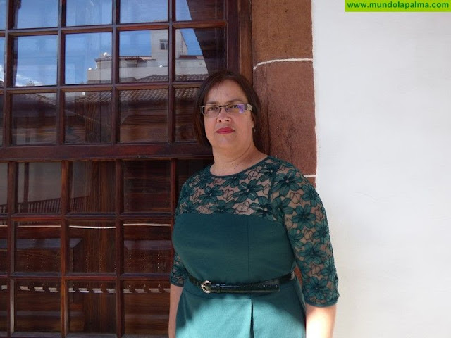"""Mayte Rodríguez """"La buena salud financiera del ayuntamiento de Breña Alta no es fruto de políticas recientes"""""""