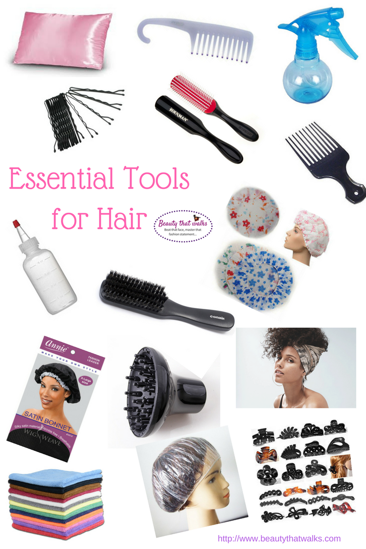 Essential Tools for Hair
