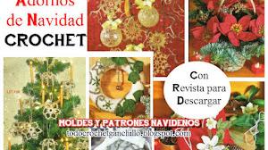 Patrones de adornos de Navidad / Descarga gratis