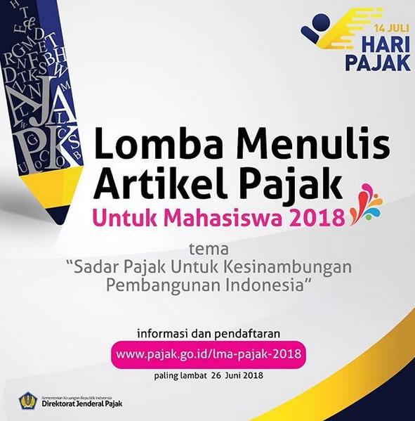 http://www.pajak.go.id/lomba-menulis-artikel-pajak-untuk-mahasiswa-2018