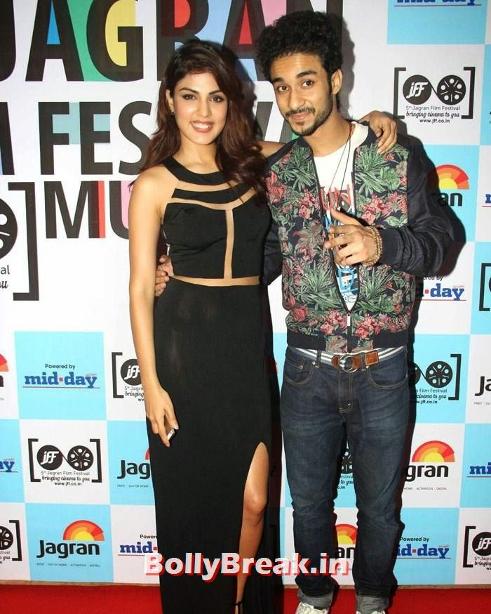 Rhea Chakraborty, Raghav Juyal, 5th Jagran Film Festival Red Carpet Pics