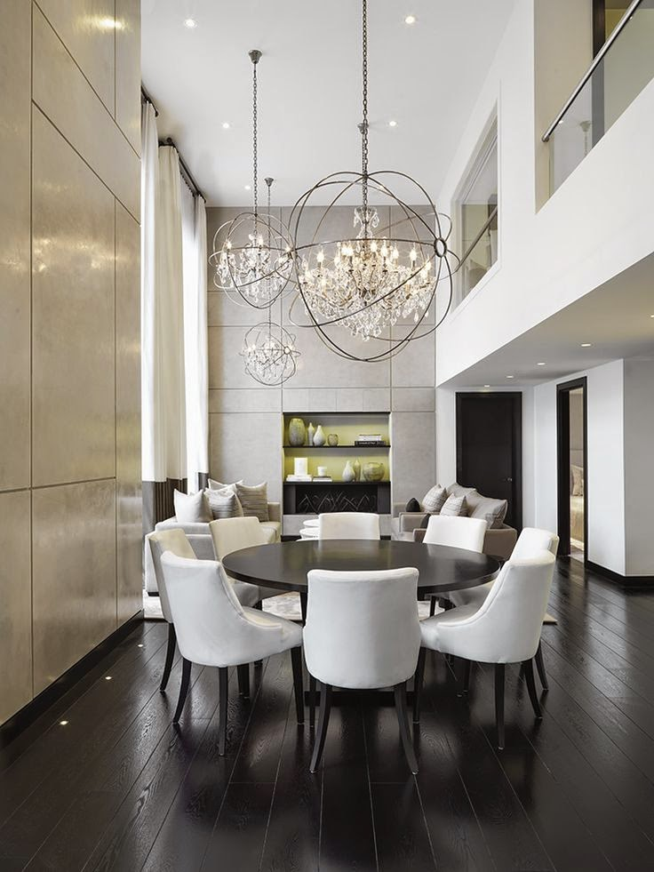 dining room chandaliers | How to Select a Dining Room Chandelier - Travel Gourmande