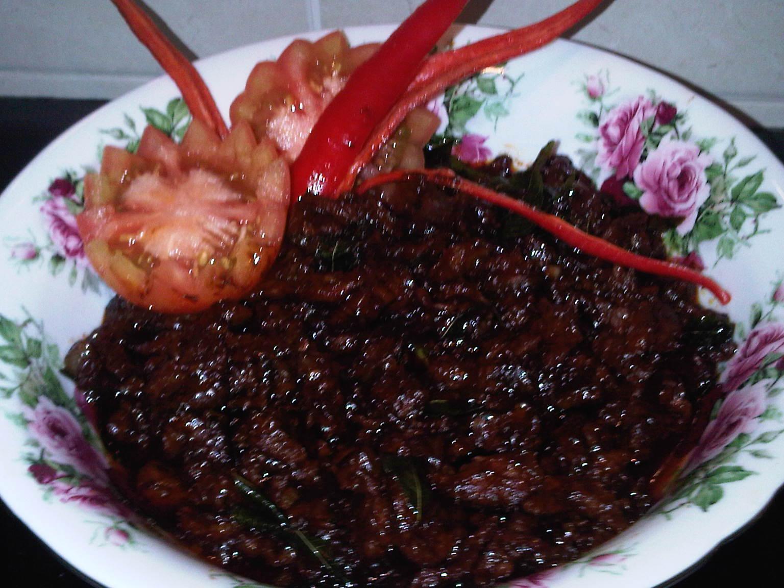 Dari Dapur Mak Jah Masak Kicap Daging Mamak Style