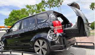 modifikasi all new avanza warna hitam