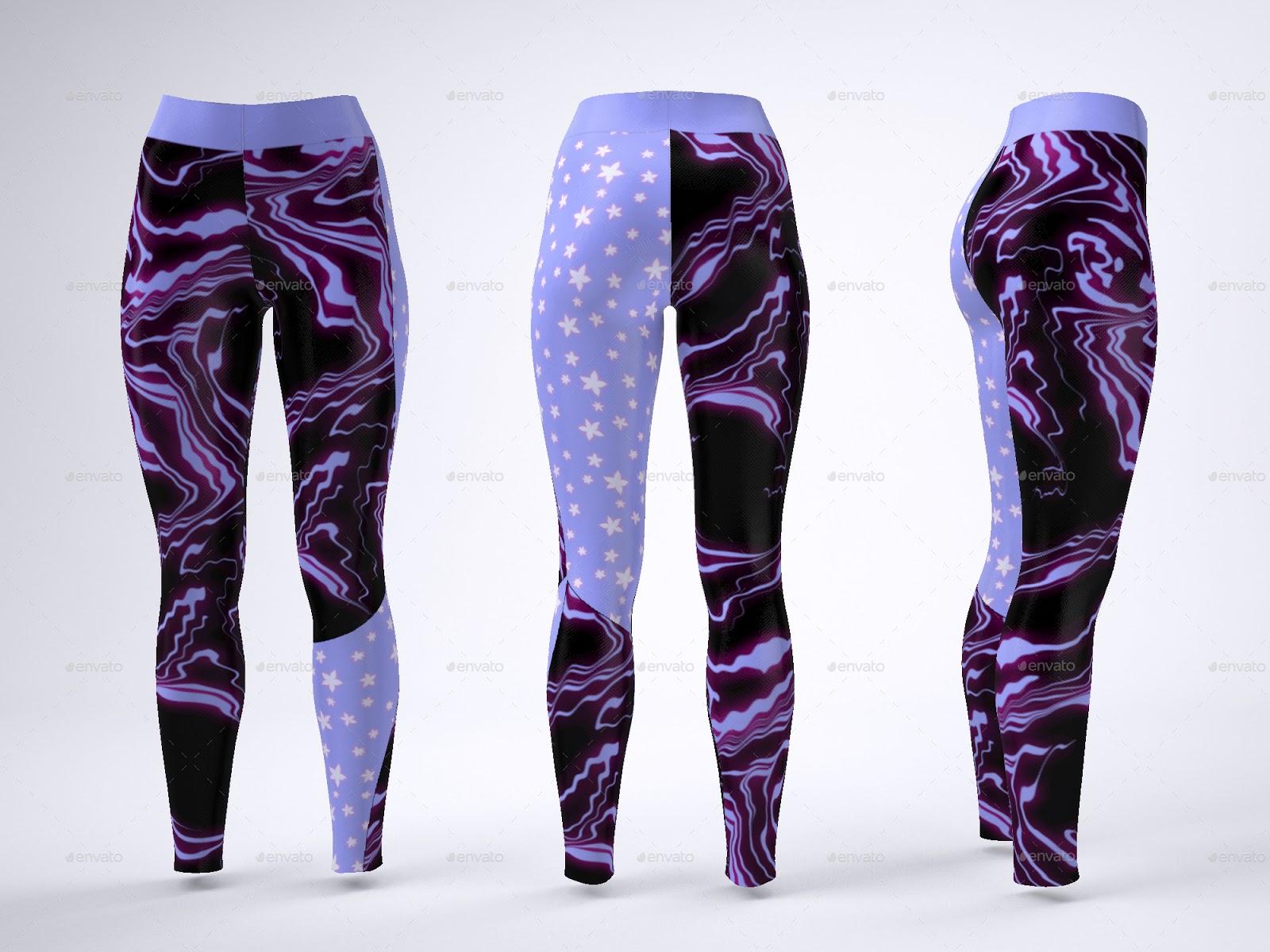 legging mockup psd + best leggings mockup templates   free & premium