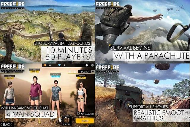 Download Game PUBG Free Fire Battlegrounds 1.10.0 Full APK