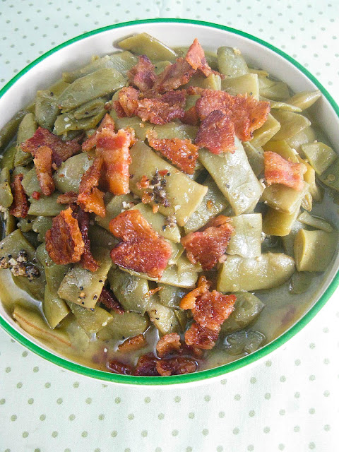 Seasoned Italian Green Beans