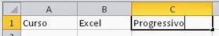 Alinhando texto no Excel