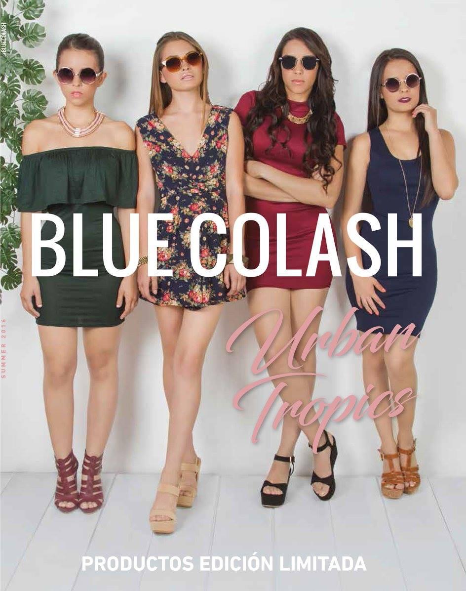 Brenda De La Peña Blue Colash