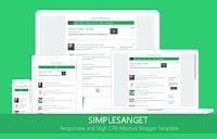 Simplesanget High CTR Adsense Blogger Templates