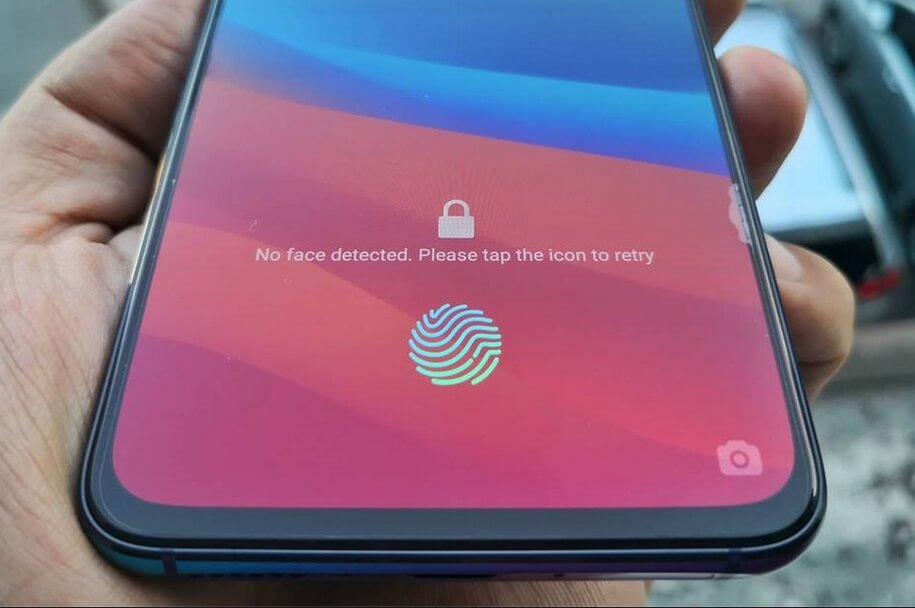 OPPO R17 Pro In-Display Fingerprint Sensor
