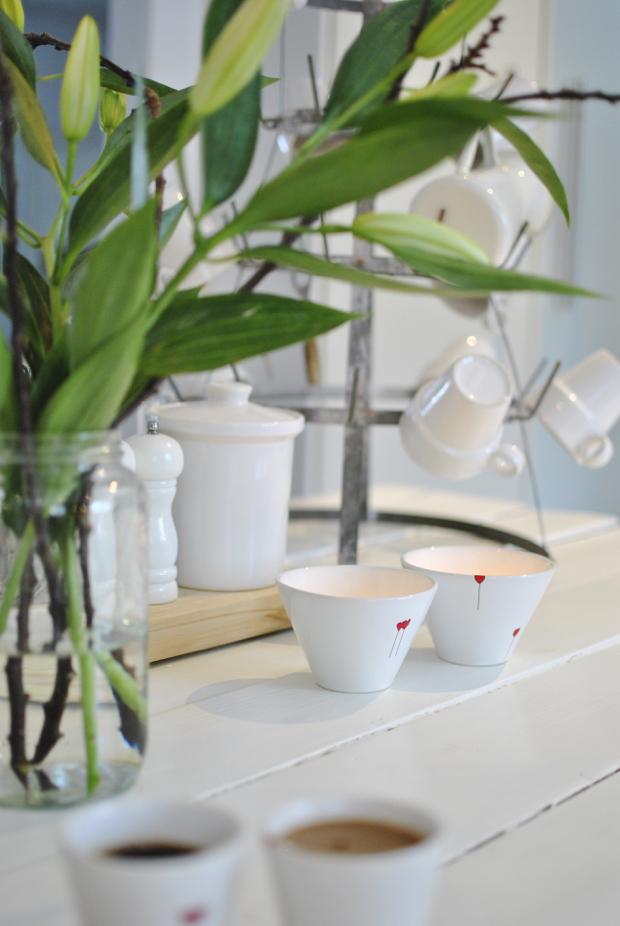 hannashantverk.blogspot.se köksö liljor keramik alla hjärtans dag