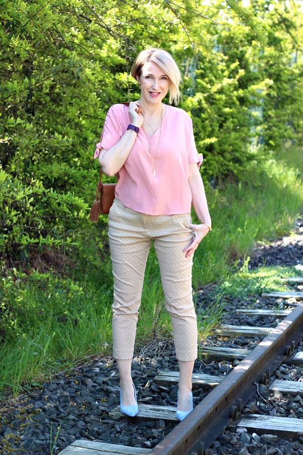 Trendfarbe 2016: Rosé mit Beige kombiniert