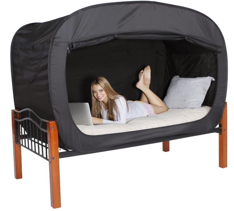 אוהל עם פרטיות